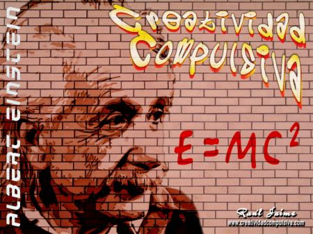 Grafiti experimental 02 - Einstein
