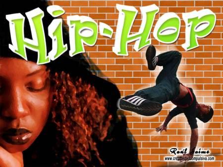 Wallpaper de un bailarían y cantante de Hip-Hop
